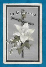 1911 IN MEMORIAM CARD - ALEXANDER McCLURE OF YOKER, GLASGOW