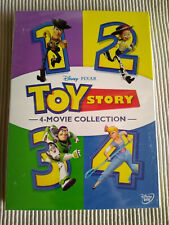 Toy Story 1-4 Dvd 4-Movie 1 2 3 4 Film Bundle Collection Combo Brand New