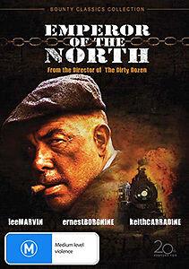 Lee Marvin Ernest Borgnine EMPEROR OF THE NORTH - VIOLENT BATTLE OF WITS DVD