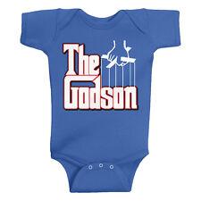 Threadrock Baby Boys The Godson Infant Bodysuit Funny Baptism Christening
