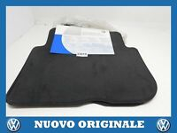 Set Rear Floor Mats Fabric Set Fabric Mats Rear Original VOLKSWAGEN Touran