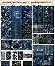 Anita Goodesign Embroidery Machine Designs CD  ANITA's ATTIC INDIGO QUILT