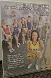 NETBALL DVD - A Decade of the Commonwealth Bank Trophy 1997-2006 *new & sealed*