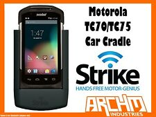 STRIKE ALPHA MOTOROLA TC70/TC75 CAR CRADLE - BUILT-IN CHARGER SECURE HOLD