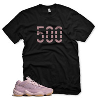 "New Black ""500"" T Shirt for Adidas Yeezy Boost 500 Soft Vision"