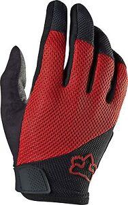 Fox Racing Reflex Gel Glove Red