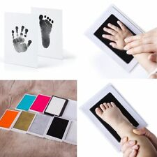 1set Baby Handprint And Footprint Ink Pads Paw Print Ink Kits For Babies And Pets J Office & School Supplies