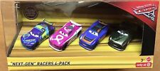 ** NEW Disney Pixar Cars 3 Next Gen Racers 4 Pack ** UK Seller Post Worldwide