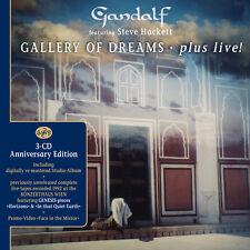GANDALF feat. STEVE HACKETT Gallery Of Dreams Plus Live! 3CD NEU / Instrumental
