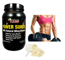 Natural Whey Protein~Stevia~Women~Post Workout~Lean Muscle Recovery~Vanilla 2lbs
