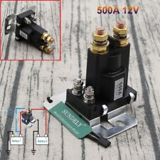 500A 12V 4 Pin DC High Current Relay Contactor On/Off Car Auto Power Switch