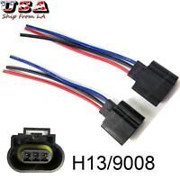 3 Wire GM Headlight Wiring Sockets For Low /& Low//High Bulbs #005T Qty.2