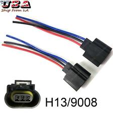 H13 9008 Wiring Harness Female Plug LED Headlight Socket for Off-road Truck Jeep