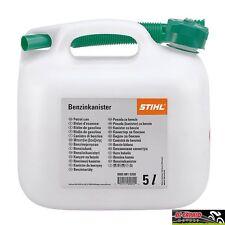 Tanica contenitore latta benzina carburante STIHL 5 litri omologata beccuccio