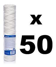 """50 X 100 Micrones Filtro De Sedimento string-wound 10 """", osmosis inversa, el biodiesel."""