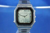 Vintage Retro Pulsar / Seiko World Timer LCD Digital Watch 1980s Very Rare