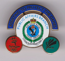 NSW POLICE SERVICE-ASSISTING TO PROTECT THE SYDNEY 2000 OLYMPICS-PUBLIC AFFAIRS