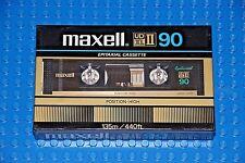 MAXELL UDXL II   90           VS.  III    BLANK CASSETTE TAPE (1) (SEALED)