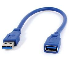 Bleu USB 3.0 male a Femelle M/F type A cable de connexion  cable d'extension WT
