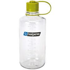 Trinkflasche Nalgene Water Bottle Narrow 1L NO BPA Sportflasche Eng KLAR Flasche