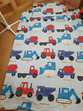 Single Bedding Childrens cars, tractors lorries Duvet Cover matching pillowcase