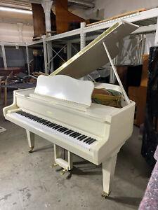 Schimmel Flügel Grand Piano Schleiflack weiß white