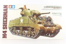 Tamiya U.s Medium Tank M4 Sherman Early Production 1/35 Scale Plastic Kit 35190