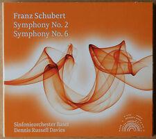 Schubert - Symphony No.2 + 6 - Sinfonieorchester Basel - Dennis Russell - CD