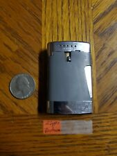 WORKING Vintage Ronson Squeeze Side Button Butane Varaflame Comet Lighter
