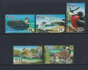 Niue - 1998, Coastal Vögel Set - MNH - Sg 841/5