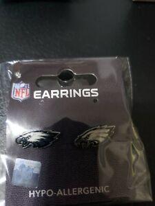 Philadelphia Eagles  Post Earrings Hypo-Allergenic