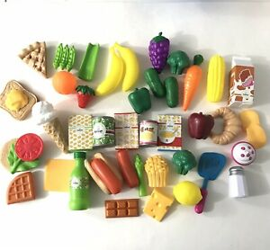 Large Lot Kitchen Play Food Fruits, Vegetables & More