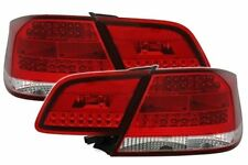 Red CLEAR color finish LED tail rear lights for BMW 3 Series E92 Coupe 06-10