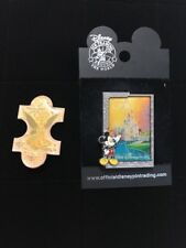 Tinkerbell And Cinderella's Castle Disney Pins