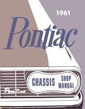 1961 Bonneville Catalina Star Chief Ventura Shop Service Repair Manual Book OEM
