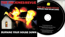 THE JIM JONES REVUE Burning Your House Down 2010 11-trk promo CD card sleeve