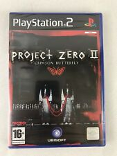 PS2 Project Zero 2 Crimson Butterfly (2004), UK Pal, New & Sony Factory Sealed