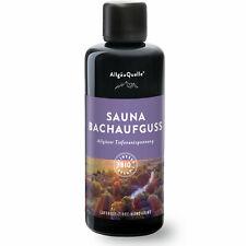 Saunaaufguss Ätherische BIO-Öle AllgäuQuelle Duft Lavendel Zirbe Mandarine Zeder