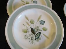Vintage Wood & Sons Clovelly green dinner plates x 2 - add  to a set