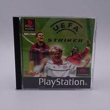 UEFA Striker Sony Playstation 1 PS1 PAL Spiel Game Europäischer Fussball