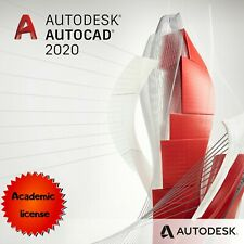 Autodesk AutoCad 2020 Academic license for windows.✅ Fast delivery.