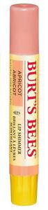 Burt's Bees LIP SHIMMER Peach Balm Lipbalm 100% Natural 2.6g APRICOT
