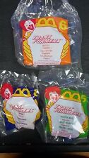 1995 MCDONALDS TRANSFORMERS TOY LOT OF 3 RHINO BEATLE AND MANTA RAY NEW SEALED