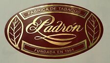 Padron cigar sticker / decal