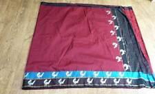 Rouge Rétro Vintage Indien Soie Rétro Vintage Sari Lengha SA5413