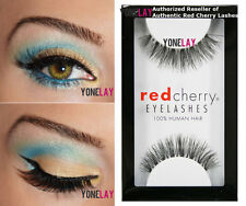 Lot 6 Pairs GENUINE RED CHERRY #415 Ivy False Eyelashes Human Hair Fake Lashes