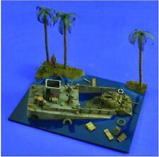 VERLINDEN PRODUCTIONS #2480 Sunken LCM (ohne Diorama & Panzer) in 1:35