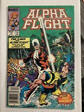 Alpha Flight #17 Vol. 1 1984 X-Men #109-CVR Swipe Newsstand Edition CGC It.