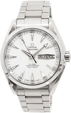 23110432202001 | NEW OMEGA SEAMASTER AQUA TERRA SILVER TEAK PATTERN MEN'S WATCH