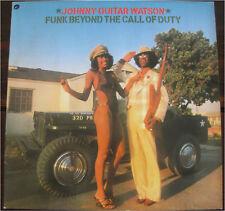 Johnny Guitar Watson, Funk Beyond The Call of Duty, VG/VG, Vinyl LP, 7729